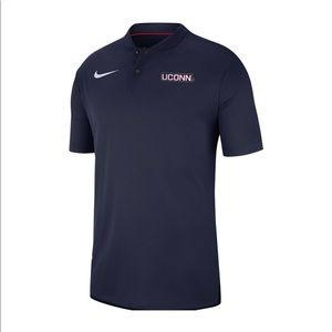 UConn Nike Dri-Fit Polo shirt